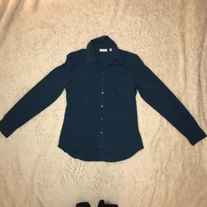 Teal Button Down Shirt